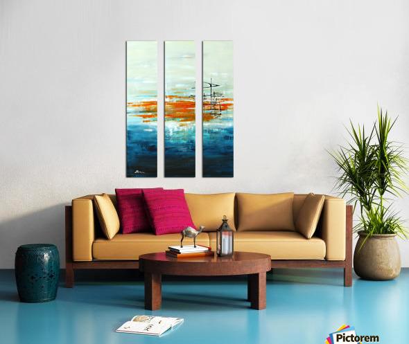 High Tide III Split Canvas print