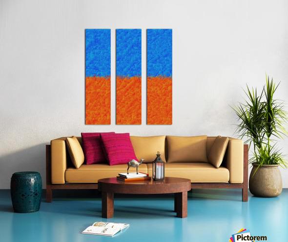 spread 2 Split Canvas print