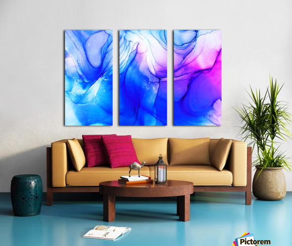945 Split Canvas print