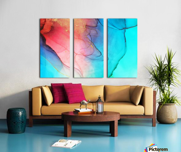 245 Split Canvas print