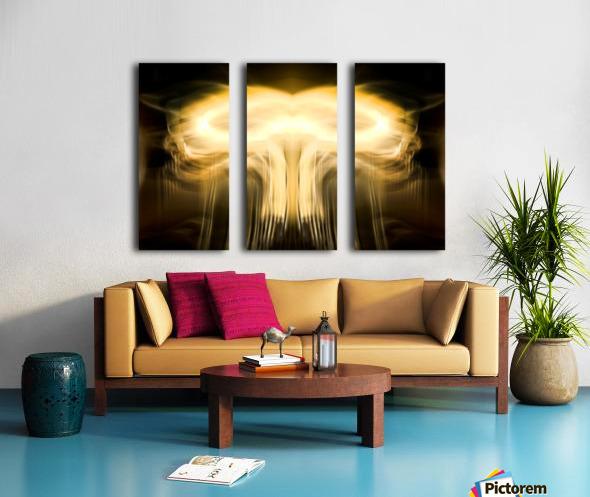 BOOM Split Canvas print