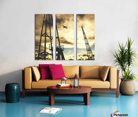 Sunset Sky Split Canvas print