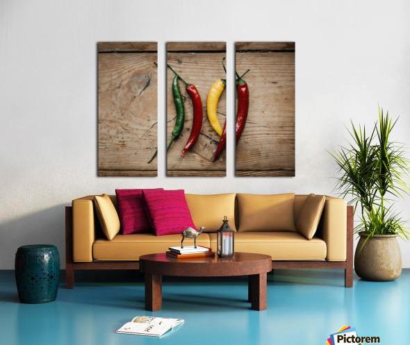 Spice it  Split Canvas print