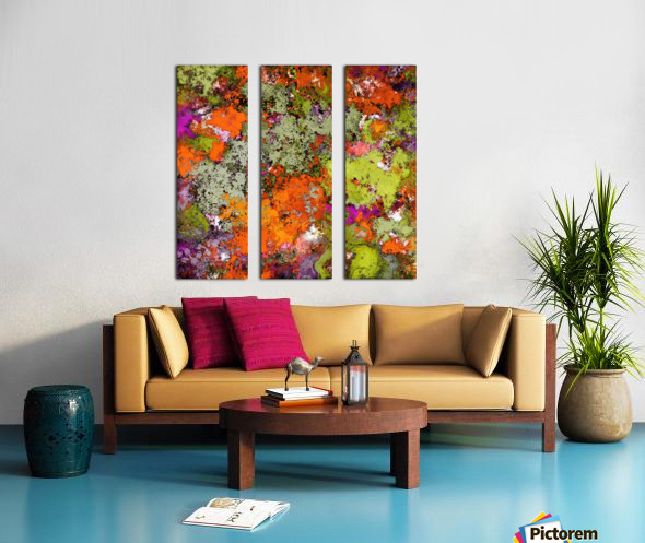 Guessing game Split Canvas print