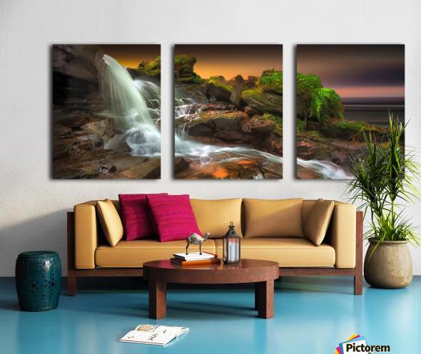 Melincourt Brook Split Canvas print