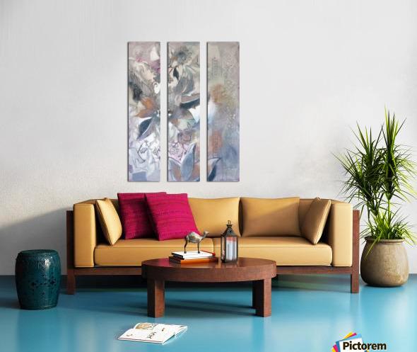 Riverton Wallpaper Panel I Split Canvas print