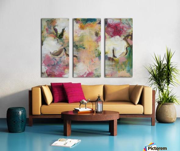 August Indian Cotton Split Canvas print