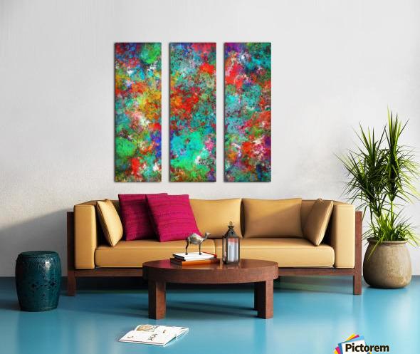 Mixer Split Canvas print