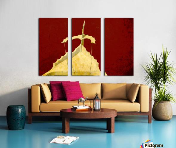 Boat - CXI  Split Canvas print