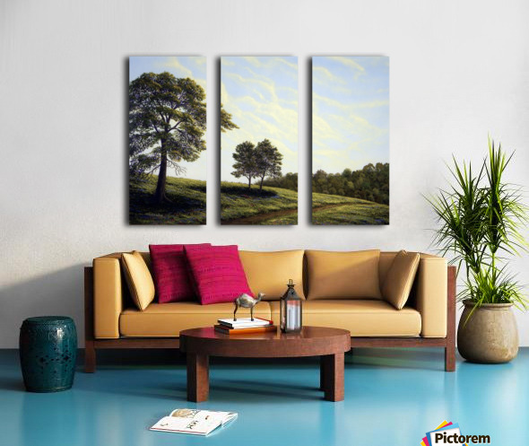 April Afternoon Split Canvas print