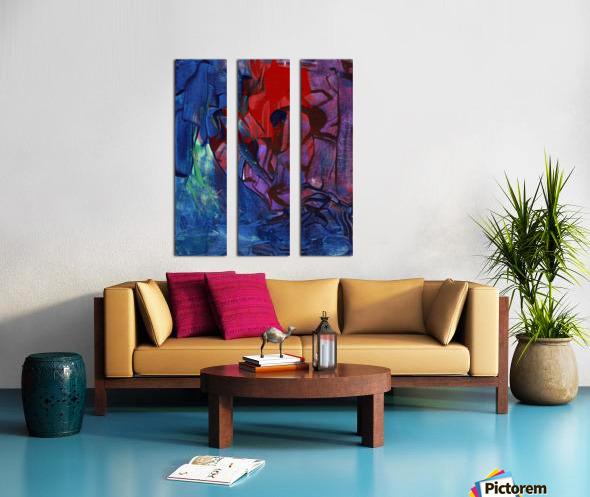 Lilac Split Canvas print