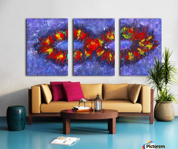 Infinity Split Canvas print