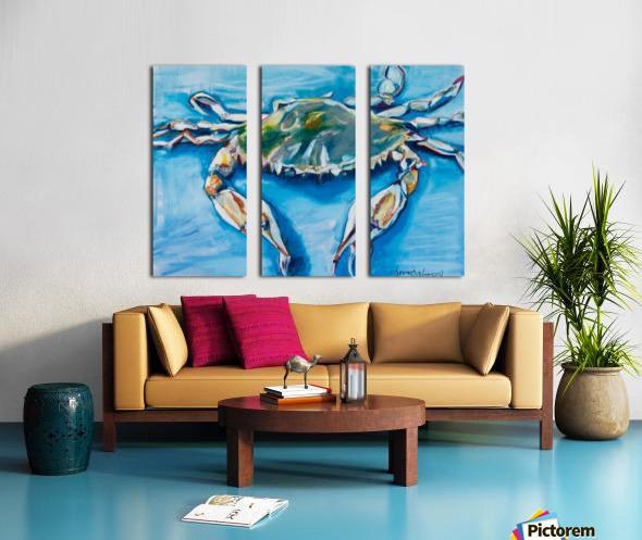 Louisiana He Soft Shell Crab Split Canvas print