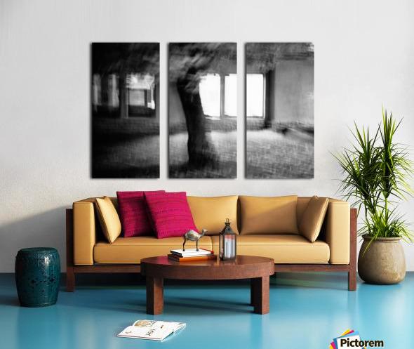 Light from a window Split Canvas print