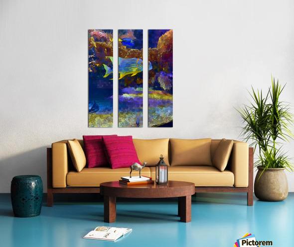 Venture into Unknown Split Canvas print