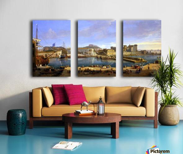 Darsena delle Galere Split Canvas print