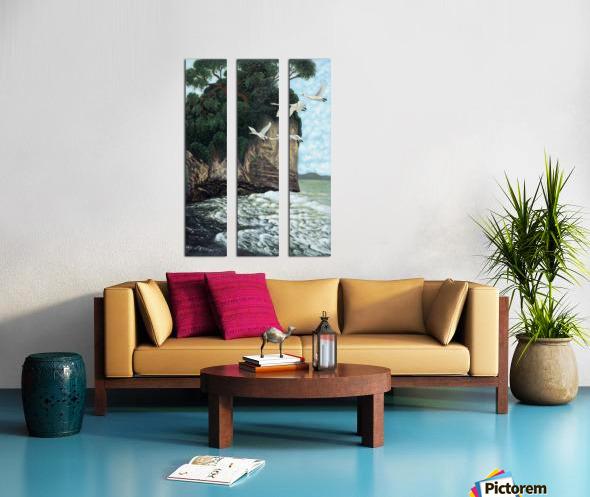 1988 023 Split Canvas print
