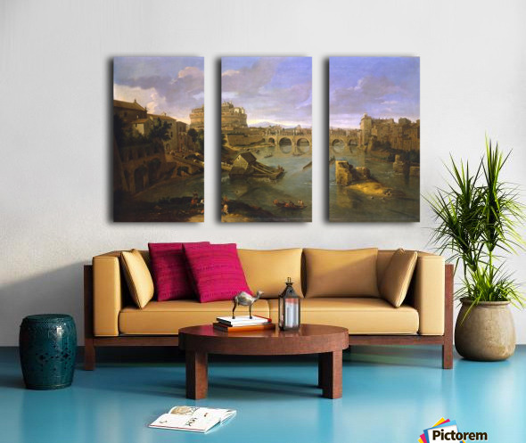 Robilant and Voena Split Canvas print