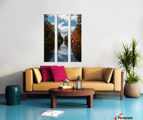 Vantage of the Inner Speaker Split Canvas print