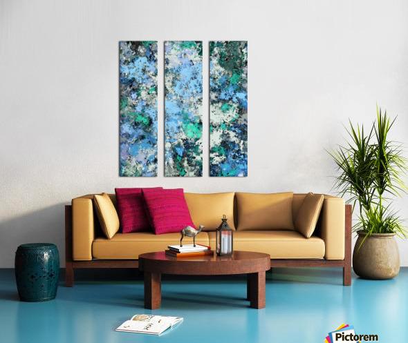 Big water Split Canvas print