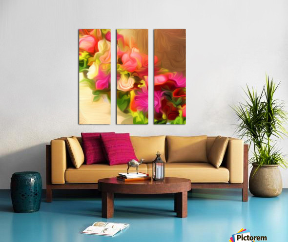 BTA7 - FLORALS AND BOTANICALS Split Canvas print