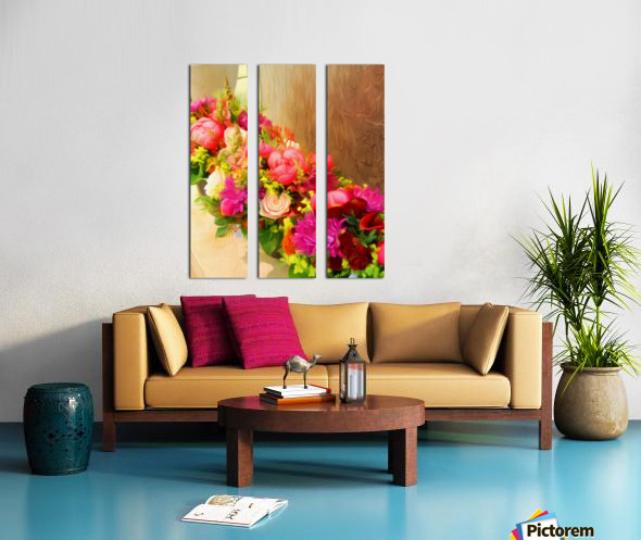 BTA6 - FLORALS AND BOTANICALS Split Canvas print
