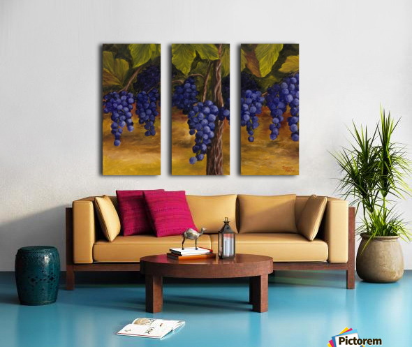 On The Vine Split Canvas print