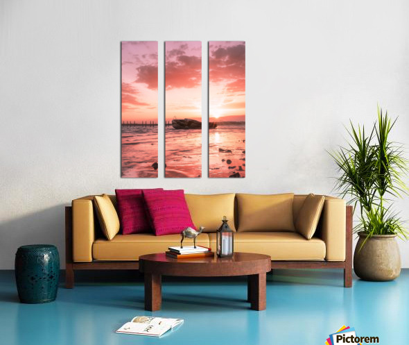 So long to what has become far gone Split Canvas print