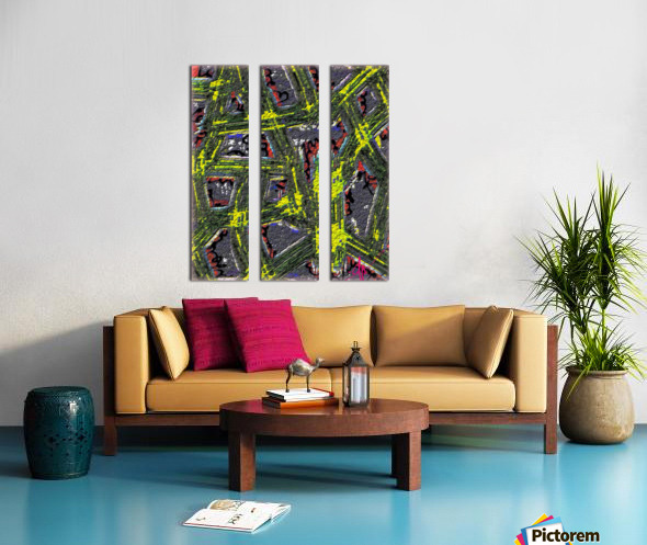 Of Like or Pertaining To Split Canvas print