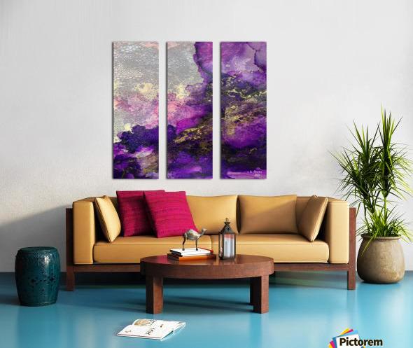 03 Split Canvas print