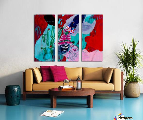 August Split Canvas print