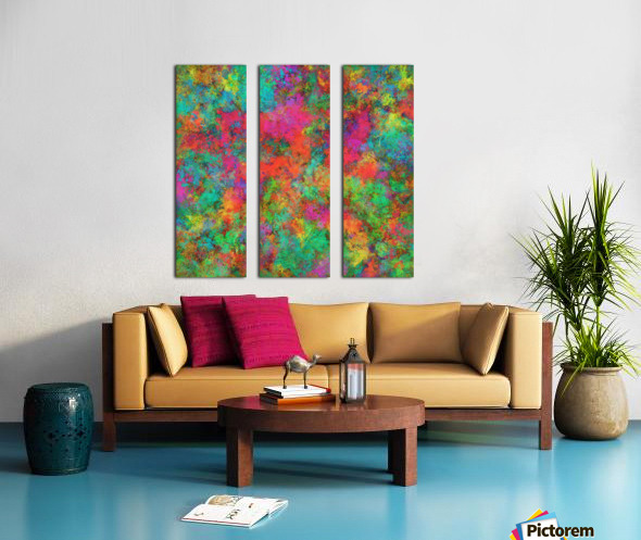The spark Split Canvas print