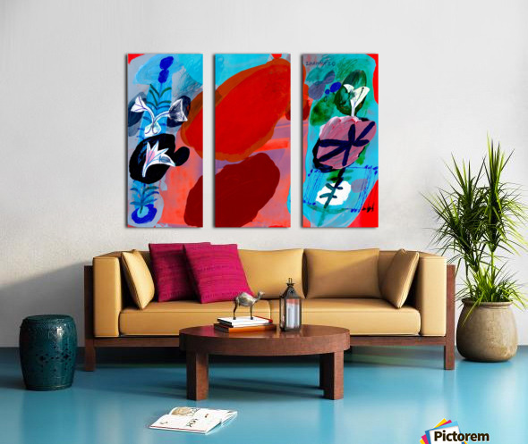 In The Middle Of June Split Canvas print