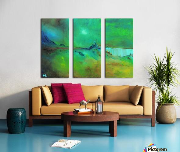 Freshness-2 Split Canvas print