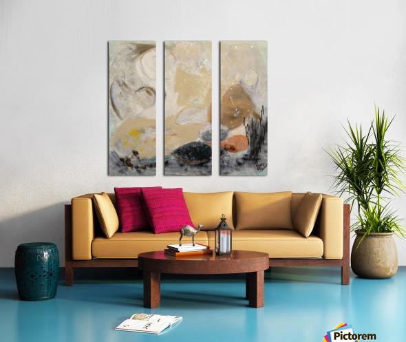 Sedona Split Canvas print