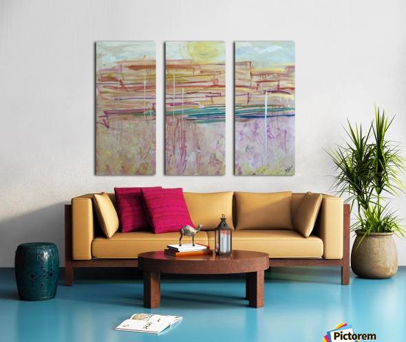 SantaFe Split Canvas print