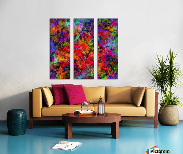 Overload Split Canvas print