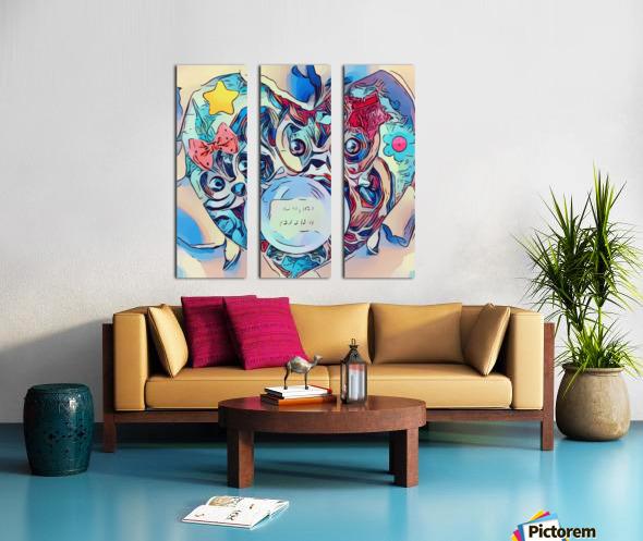 The Foretelling  Split Canvas print