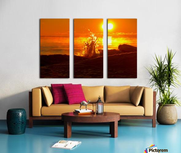 Lake Michigan Sunrise  Split Canvas print