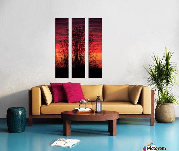 Missouri Sunset part 1 Split Canvas print