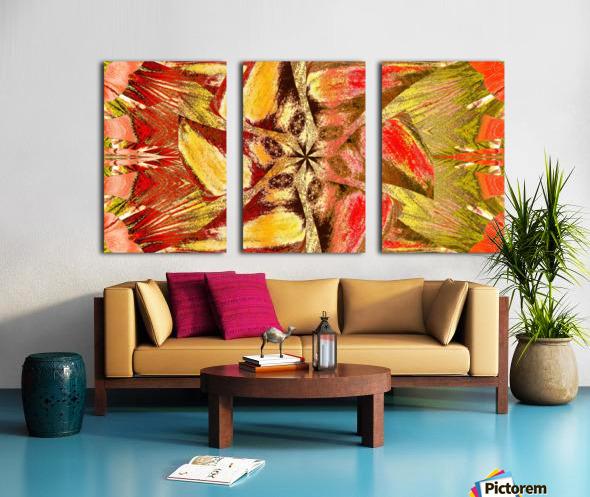 Wildflower In The Wind 2 Split Canvas print