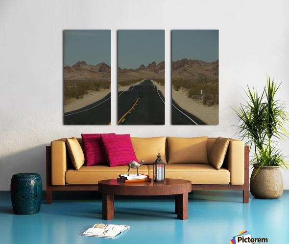 Desert Wave Split Canvas print