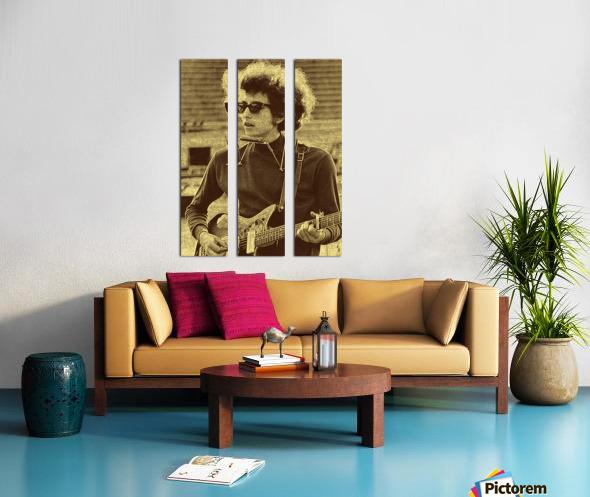 Bob Dylan  American singer Collection 3  Split Canvas print