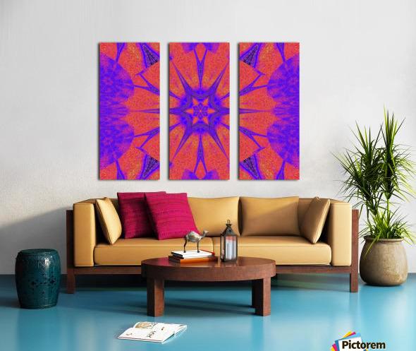 Lotus And Sunshine 2 Split Canvas print