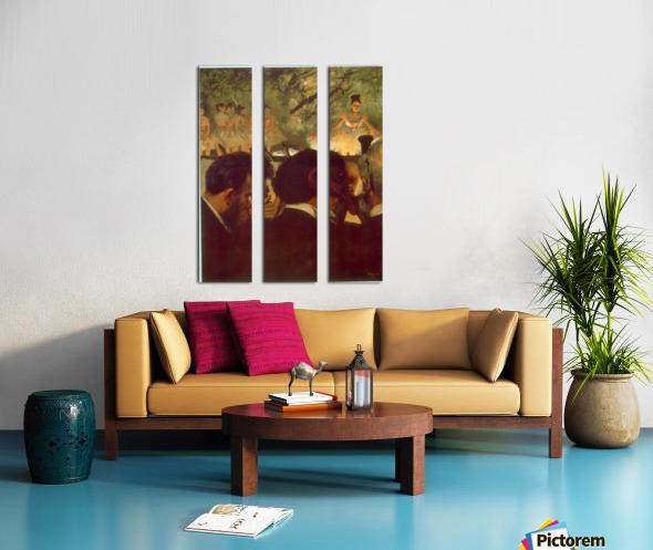 Musicians by Degas Split Canvas print