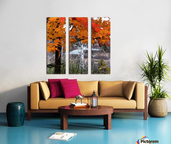 Autumn at Lake Superior Split Canvas print