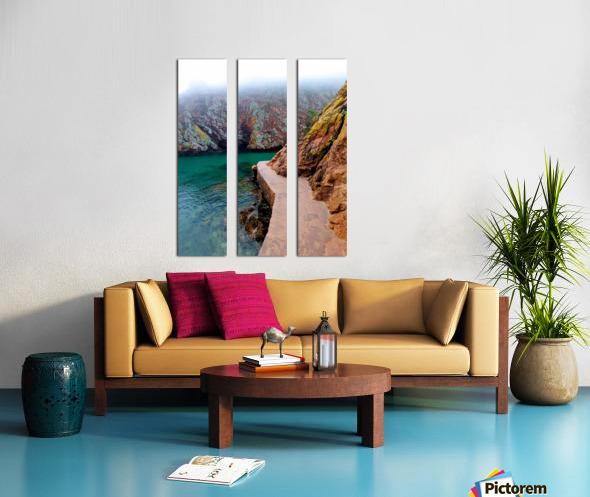 SEASIDE PATH Split Canvas print