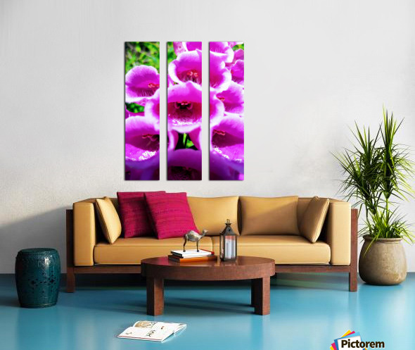 MOUTH OF THE DIGITALIS Split Canvas print