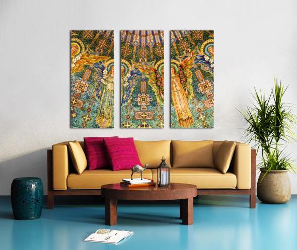 mosaic angels Split Canvas print