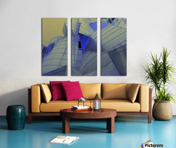 night vision Split Canvas print